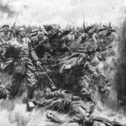 Церемония в чест на загиналите воини в Първата световна война