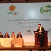 """Бизнес форум """"Дълга ваканция или кратки пътувания – добре дошли в България през цялата година"""" в Букурещ"""