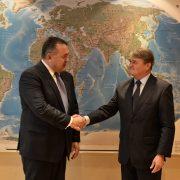 Среща на посланик Т. Чуров с ръководителя на Търговско-промишлената палата на Румъния