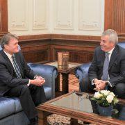Среща на посланик T. Чуров с председателя на Сената Калин Попеску-Таричяну