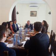 Участие на представителството в Румънската правителствена програма за стажанти
