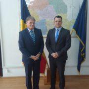 Среща на посланик Чуров със заместник-министъра на туризма на Румъния Б. Томояга